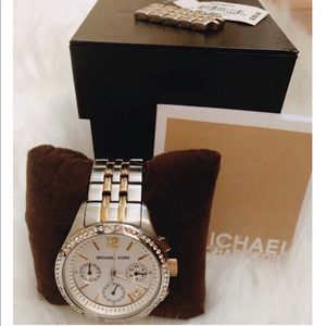 Michael Kors Watch - two toned